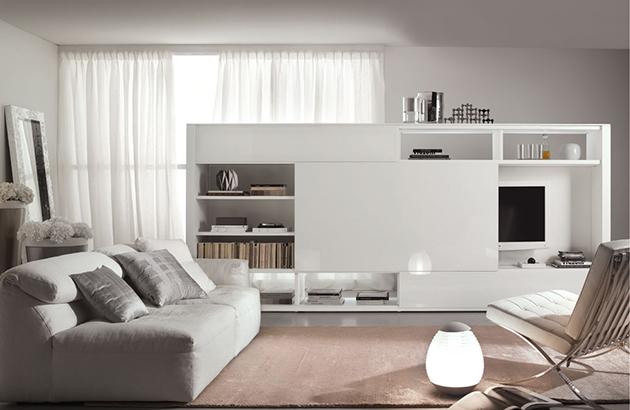 """""""White-on-white living room"""" 5 traditional living room design ideas 5 Traditional living room design ideas antique diamond white living room"""