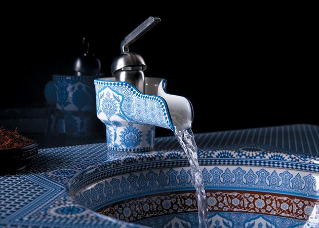"""Moroccan Ceramic Sink"""