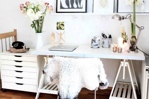 The Most Feminine Home Office Interior Design The Most Feminine Home Office Interior Design 104