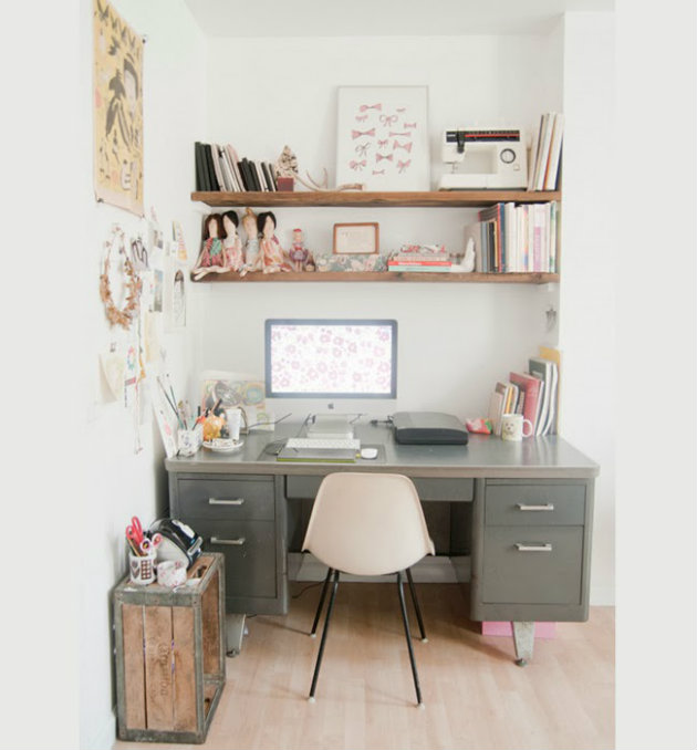 Home office decorating ideas for small apartments