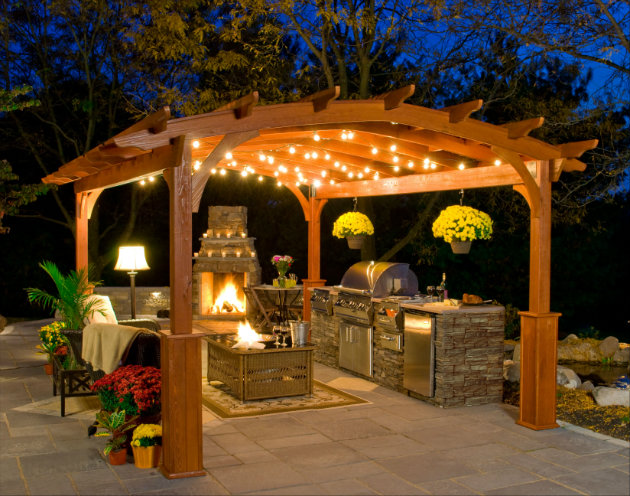 decorating ideas for outside kitchen Decorating Ideas for Outside Kitchen 713