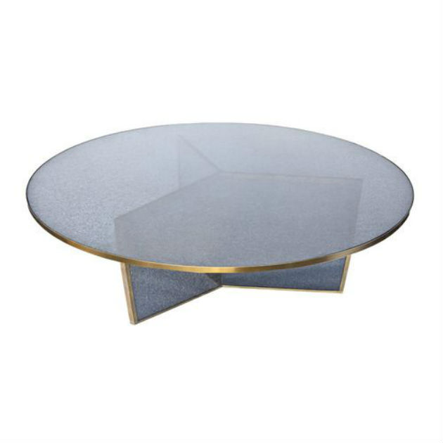the handmade glass coffee tables that will inspire you The Handmade Glass Coffee Tables That Will Inspire You FRACTURED COFFEE TABLE Kelly Wearstler