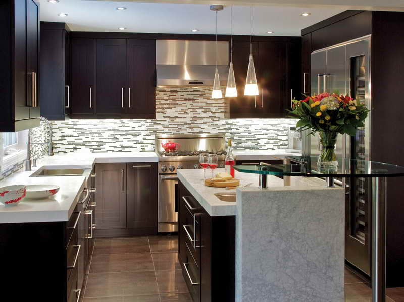 Top 10 Lighting Ideas for Your Kitchen how to decorate your kitchen with a pendant light How to decorate your kitchen with a pendant light Modern Kitchen Lighting Ideas with bowls