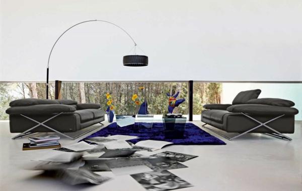 The Best Modern Sofas for Living Room the best modern sofas for living room The Best Modern Sofas for Living Room black sofa living room furniture roche bobois 3