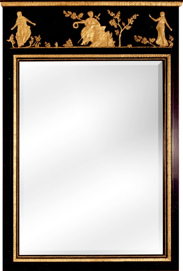 Top 5 black and gold wall mirrors Top 5 black and gold wall mirrors neoclassical mirror mirr95400 e1417179271213