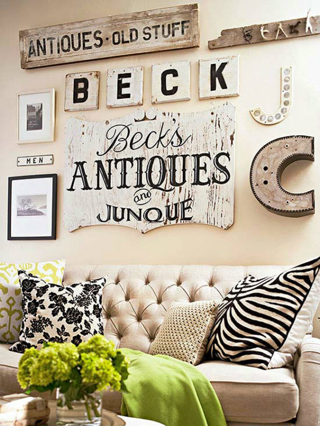 Vintage decorating ideas for your living room for Antique living room decorating ideas