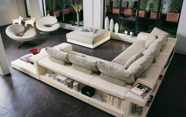 the best modern sofas for living room The Best Modern Sofas for Living Room white sofa couch living room furniture roche bobois14