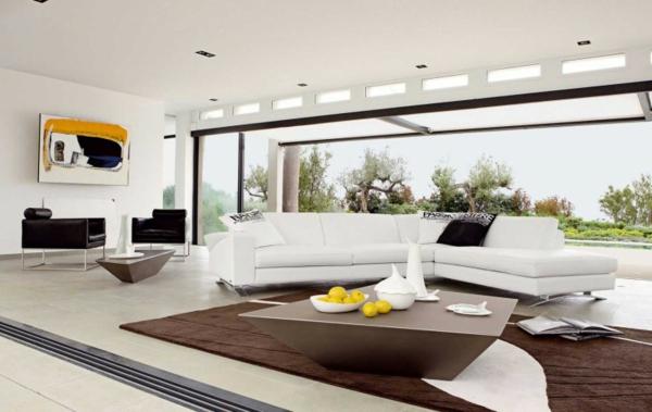The Best Modern Sofas for Living Room the best modern sofas for living room The Best Modern Sofas for Living Room white sofa couch living room furniture roche bobois8