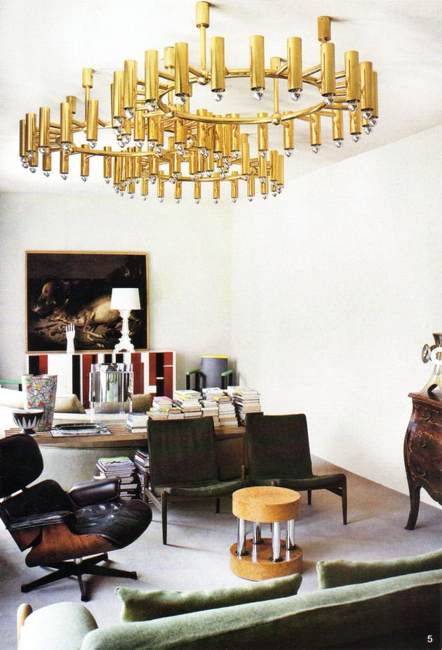 how to create a luxury ambiance with gold chandeliers