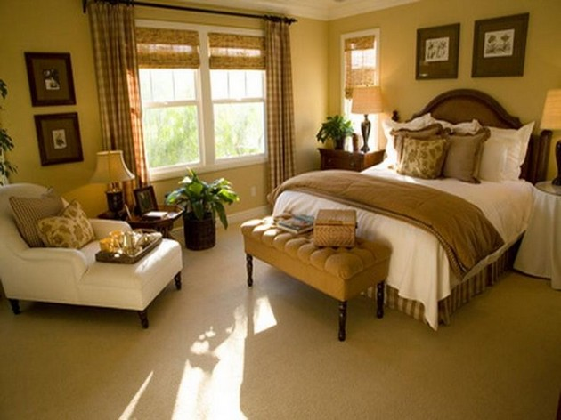 How to decorate your master bedroom with a chaise lounge chair - Master bedroom decorating ideas ...