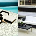 Outdoor Decorating Ideas using Black Furniture