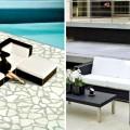 Outdoor Decorating Ideas using Black Furniture