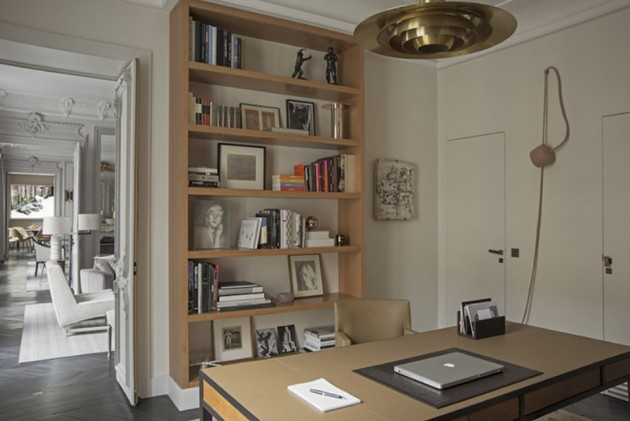 French Home Office Decoration Ideas