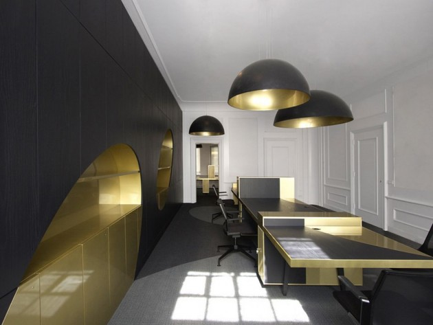 Extravagant Home Design ideas Extravagant Home Design ideas Extravagant Home Design ideas black and gold furniture power office interior design 1 e1419597011202