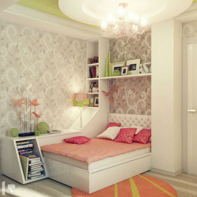 Feminine Bedroom Decorating Ideas