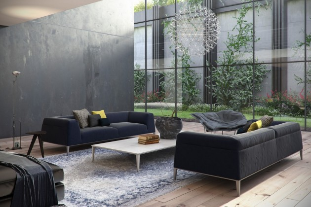 Living Room Decor with a Black Velvet Sofa Living Room Decor with a Black Velvet Sofa Living Room Decor with a Black Velvet Sofa 5 e1420625414234