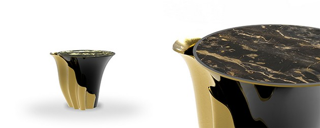 The Best Black and Gold Furniture for a Luxury House