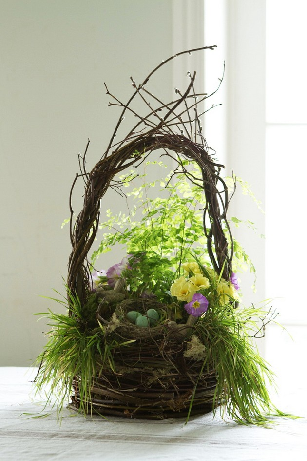 easter decorating for your living room  room decor ideas