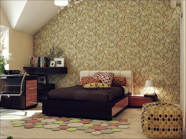 Bedroom Ideas: The most Beautiful Wallpapers for a Spring Bedroom Decor 40 beautiful wallpapers for a spring bedroom decor 40 Beautiful Wallpapers for a Spring Bedroom Decor Room Decor Ideas Bedroom Decor Wallpaper Bedroom Ideas Beautiful Wallpaper Spring Wallpaper Room Ideas 1