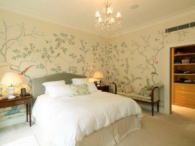 Bedroom Ideas: The most Beautiful Wallpapers for a Spring Bedroom Decor 40 beautiful wallpapers for a spring bedroom decor 40 Beautiful Wallpapers for a Spring Bedroom Decor Room Decor Ideas Bedroom Decor Wallpaper Bedroom Ideas Beautiful Wallpaper Spring Wallpaper Room Ideas 23