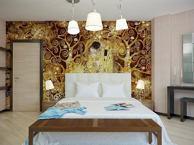 Bedroom Ideas: The most Beautiful Wallpapers for a Spring Bedroom Decor 40 beautiful wallpapers for a spring bedroom decor 40 Beautiful Wallpapers for a Spring Bedroom Decor Room Decor Ideas Bedroom Decor Wallpaper Bedroom Ideas Beautiful Wallpaper Spring Wallpaper Room Ideas 26