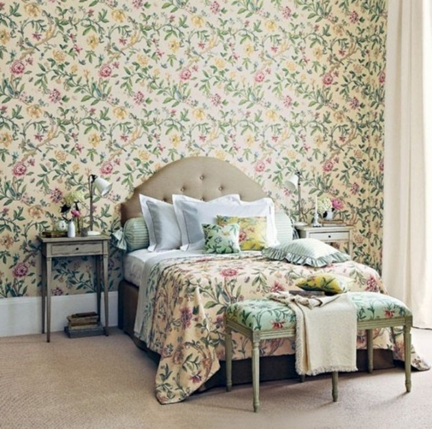 40 Beautiful Wallpapers for a Spring Bedroom Decor – Wallpaper for a Bedroom