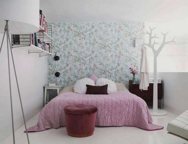 Bedroom Ideas: The most Beautiful Wallpapers for a Spring Bedroom Decor 40 beautiful wallpapers for a spring bedroom decor 40 Beautiful Wallpapers for a Spring Bedroom Decor Room Decor Ideas Bedroom Decor Wallpaper Bedroom Ideas Beautiful Wallpaper Spring Wallpaper Room Ideas 35