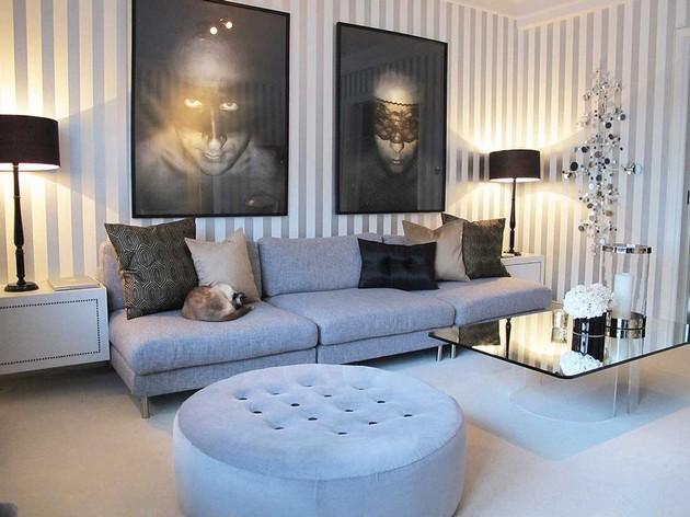 Room Decor Ideas: 35 Spring Wallpaper for Living Room