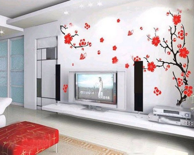 35 Spring Wallpaper for Living Room
