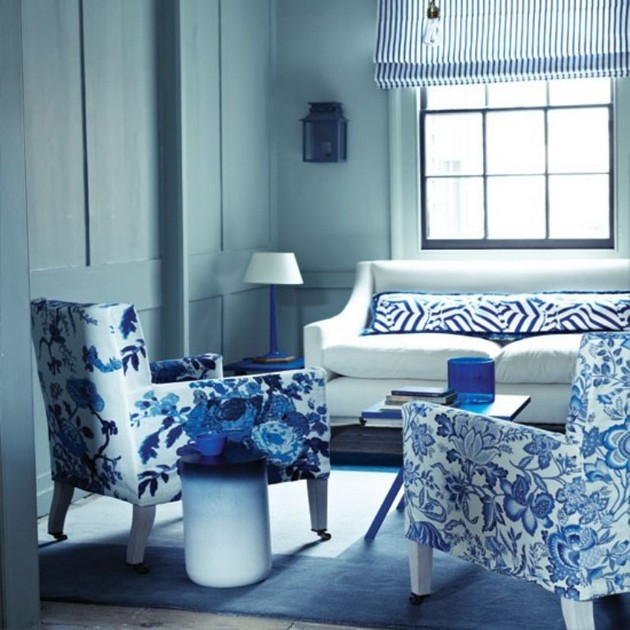 living room with blue accents 50 amazing blue living rooms for 2015 18654