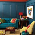 Room Decor Ideas: 50 Amazing Blue Living Rooms for 2015
