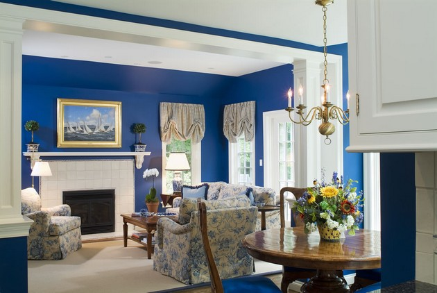 blue and black living room decorating ideas 50 amazing blue living rooms for 2015 27248