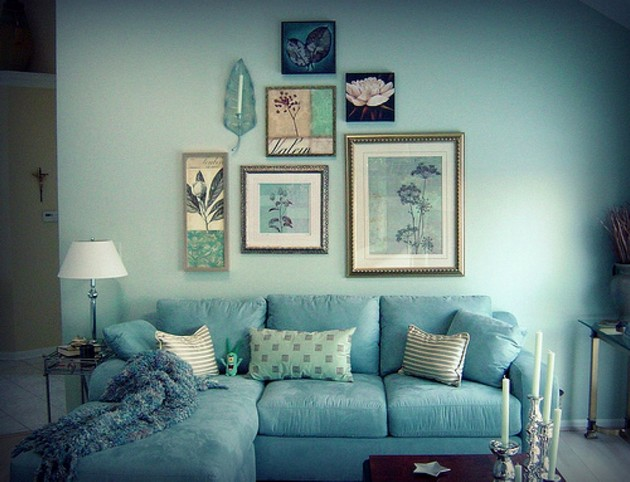 decorating ideas for blue living rooms 50 amazing blue living rooms for 2015 25007