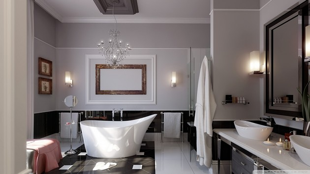 30 Bathroom Ideas: Elegant & Dreamy Spaces 30 bathroom ideas: elegant and dreamy spaces 30 Bathroom Ideas: Elegant and Dreamy Spaces Room Decor Ideas Beautiful Bathrooms Bathroom Design Bathroom Design Ideas Room Ideas Modern Bathroom 15
