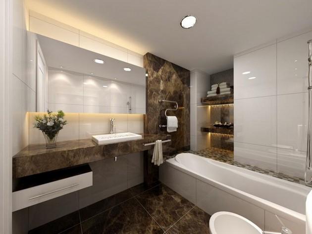 30 Bathroom Ideas: Elegant & Dreamy Spaces 30 bathroom ideas: elegant and dreamy spaces 30 Bathroom Ideas: Elegant and Dreamy Spaces Room Decor Ideas Beautiful Bathrooms Bathroom Design Bathroom Design Ideas Room Ideas Modern Bathroom 42
