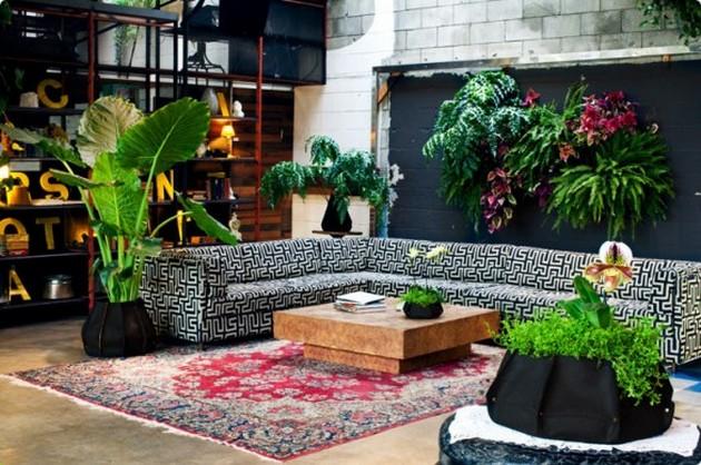 Garden ideas 20 room ideas for an interior garden for Garden room interior designs