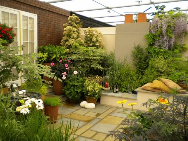 interior garden Garden Ideas: 20 Room Ideas for an Interior Garden Room Decor Ideas Room Ideas Garden Ideas Spring Garden Garden Small Garden Ideas 7