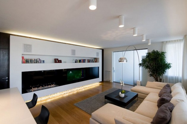 How to arrange a small apartment living room