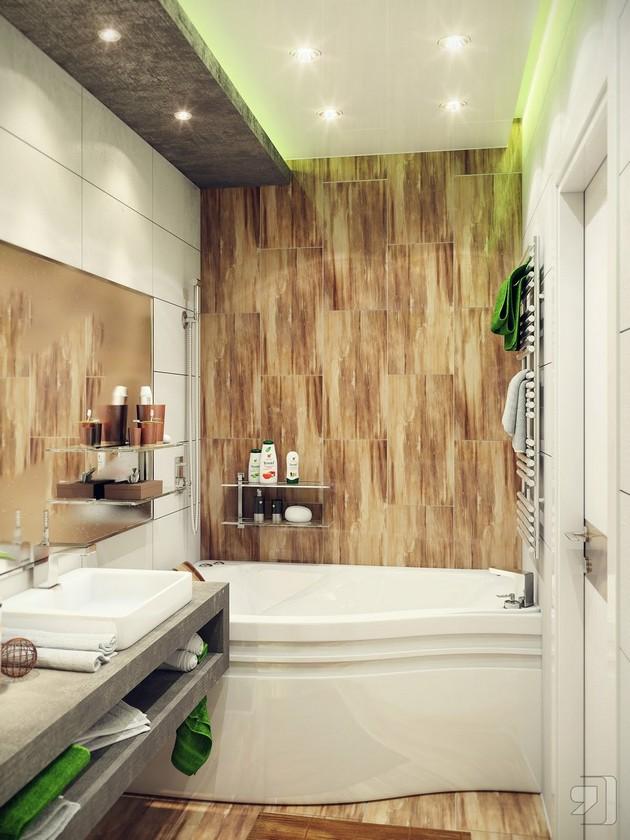 30 room ideas for small bath solutions 30 Room Ideas for Small Bath Solutions Room Decor Ideas Room Ideas Room Design Small Bathroom Ideas Small Bathroom Designs Small Bathroom Beautiful Bathrooms 15