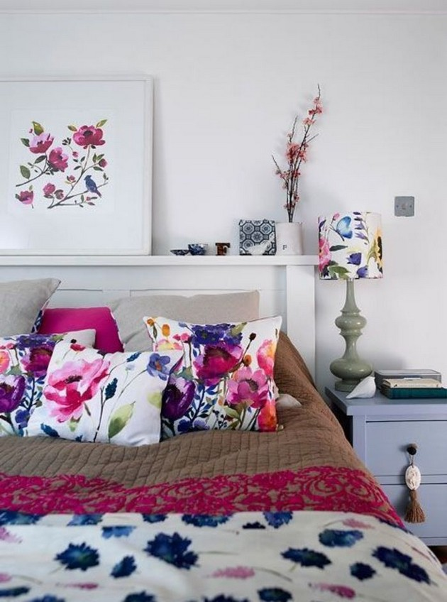 The Best Bedroom Ideas with Flowers The Best Bedroom Ideas with Flowers The Best Bedroom Ideas with Flowers Room Decor Ideas Room Design Room Ideas Bedroom Bedroom Ideas Bedroom Flowers Summer Flowers 15