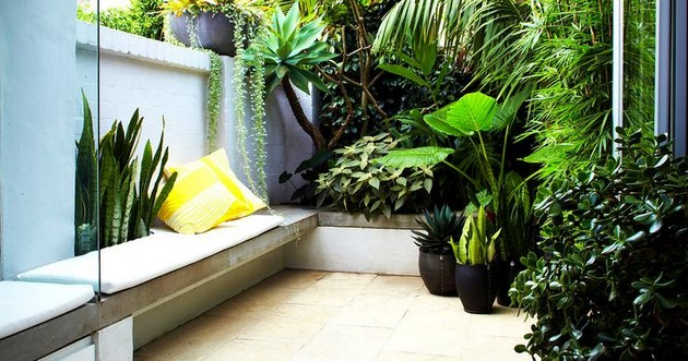 Luxury City Outdoor Gardens Ideas