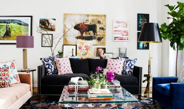 Cheer Up your Living Room With this Colorful Velvet Sofas