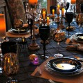 Halloween Party Ideas: Dining Room Design