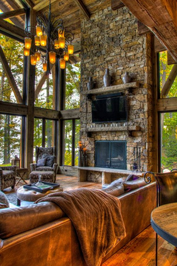 Living Room Decor With Fireplace 20 Lovely Living Rooms With Fireplaces