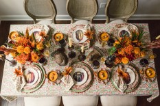 15 Decoration Ideas for Thanksgiving Dinner Thanksgiving Dinner 15 Decoration Ideas for Thanksgiving Dinner Room Decor Ideas Thanksgiving Day Table Setting Thanksgiving dinner Dining Room Dining Room Ideas 71 233x155