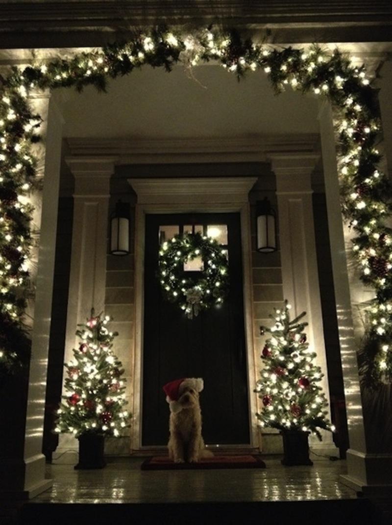 Best Front Door Christmas Decoration Ideas Interior Design