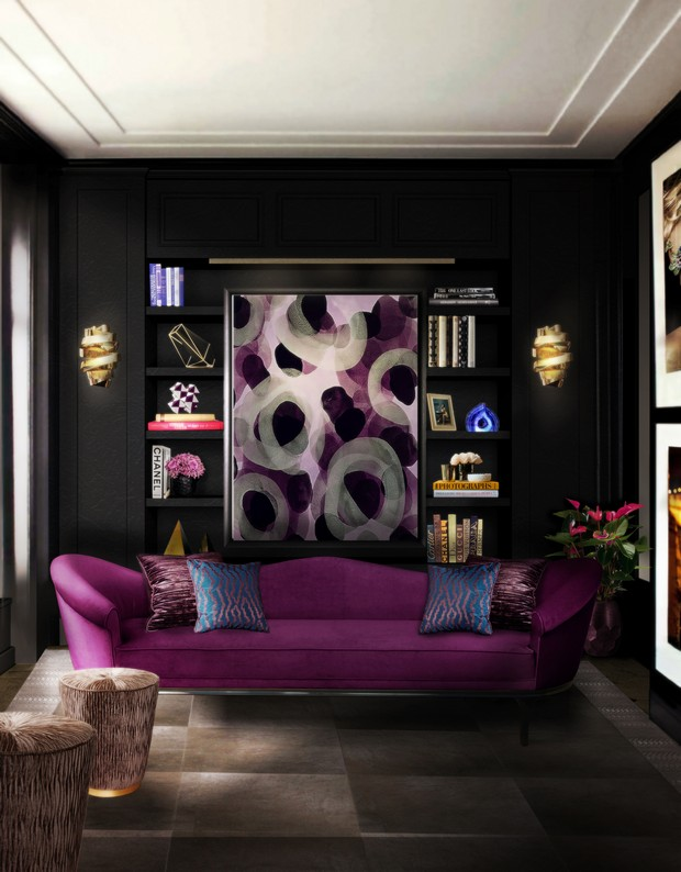 How to Get a Luxury Interior Design with Black Walls