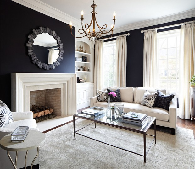 black walls room decor ideas luxury interior design black walls room