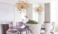 2016 trends for home interiors 2016 Trends for Home Interiors: Gold and Raw Materials Room Decor Ideas Room Ideas Room Design Suspension Lamps Luxury Lighting Dining Room Design Luxury Dining Room 16 233x138