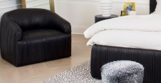 How to Decorate with Luxury Hide Rugs hottest accent chairs for stylish bedrooms Hottest Accent Chairs for Stylish Bedrooms Room Decor Ideas How to Decorate with Luxury Hide Rugs Luxury Rugs Luxury Interior Design Kelly Wearstler Bedroom Design e1456421383300 233x121